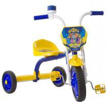Triciclo Infantil Top Boy Jr Azul E Amarelo Pro Tork Ultra - Ultra bikes