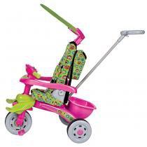 Triciclo Infantil Trike Mônica Rosa/Verde 3323 - Magic Toys - Magic Toys