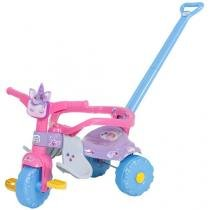 Triciclo Infantil Unicórnios Uni Love - com Empurrador Magic Toys