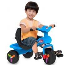 Triciclo Infantil Veloban Passeio Premium Azul 238 - Bandeirante - Bandeirante