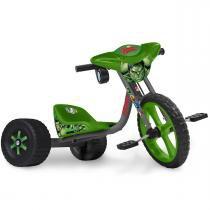 Triciclo Infantil Velotrol Hulk Os Vingadores 2414 - Bandeirante - Bandeirante