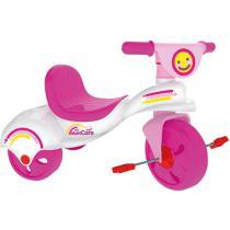 Triciclo Infantil Xalingo Multi Care Girl - com Porta Objetos
