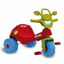 Triciclo Jetban Vermelho Bandeirante - 905 - Brinquedos bandeirante