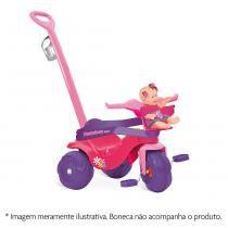 Triciclo Motoban Passeio  Pedal Rosa Bandeirante -