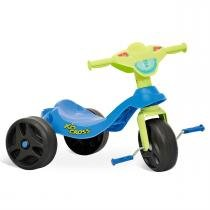 Triciclo Motoca Infantil Kid Cross Azul 628 Bandeirante -