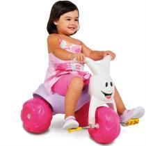 Triciclo Motoca Infantil Rosa Europa Gatinha Bandeirante -