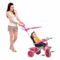 Triciclo Smart Comfort Rosa - Bandeirante - 257 - Brinquedos bandeirante