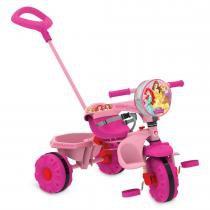 Triciclo Smart Princesas Disney Rosa 2193 - Bandeirante - Bandeirante