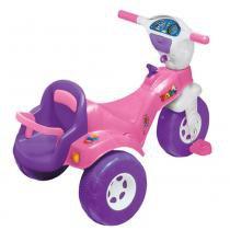 Triciclo Tico-Tico Baby com Cadeirinha para Boneca 3501 - Magic Toys -