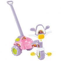 Triciclo Tico Tico Mag - Coleção Versátil com Alça e Pedal - Magic Toys - Magic Toys