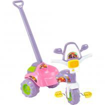 Triciclo Tico-Tico Meg com Haste 2704 - Magic Toys - Magic Toys