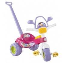 Triciclo tico-tico monica rosa com som magic toys 2209 - Magic toys