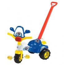 Triciclo tico-tico policia com alca magic toys 2703 -