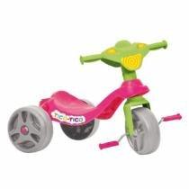 Triciclo Tico Tico Rosa Bandeirante - 652 - Brinquedos bandeirante