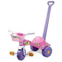 Triciclo Tico Tico - Sereia com Alça e Pedal - Magic Toys - Magic Toys
