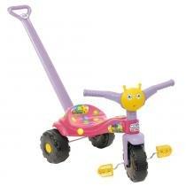 Triciclo Tico-Tico Tetéia com Haste 2551 - Magic Toys -