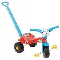 Triciclo Tico-Tico Totó com Haste 2552 - Magic Toys -