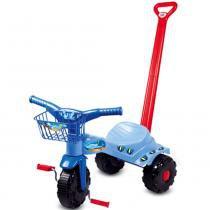 Triciclo Tico-Tico Tubarão com Haste 2131 - Magic Toys - Magic Toys