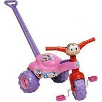 Triciclo Tico-Tico Turma da Mônica com Alça - Mônica - Magic Toys - Magic Toys