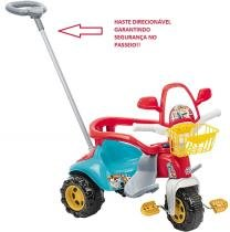 Triciclo Tico Tico Zoom Max com Haste 2710 - Magic toys