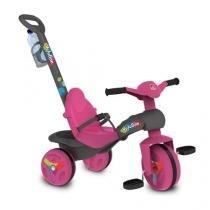 Triciclo veloban passeio pink bandeirante 231 - Bandeirante
