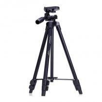 Tripé Câmera DSLR Vídeo - Yunteng VCT-520 - 1,25m -