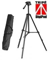 Tripé Foto / Vídeo Black 1,35m Digipod  Para Canon, Nikon e Sony - TR450CS-B -