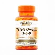 Triple Ômega 3-6-9 - 60 Cápsulas - Sundown -