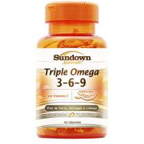 Triple Ômega 3-6-9 - 60 Softgels - 60 Softgels - Sundown