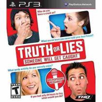 Truth or lies: someone will get caught - ps3 - Thq