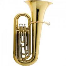 Tuba bb 3/4 3 pistos hbb-l332l laqueada harmonics -