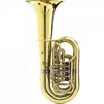 Tuba bb 4/4 4 rotores hbb-200l laqueado harmonics -