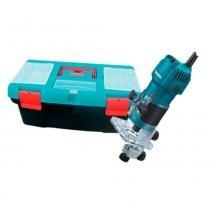 """Tupia manual 530 watts para pinça de 1/4"""" - 3709K (220V) - Makita"""