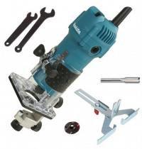 Tupia Manual Laminados 530w Makita 3709 C/ Kit Completo-220V -