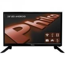 TV 28P Philco LED SMART Android HD HDMI USB - 099283016 -
