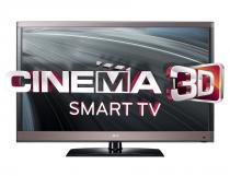 "TV 3D LED 47"" LG Full HD Conversor Digital Integrado 4 Entradas - LG"