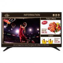 "TV 55"" LG LED Full HD 55LV640S, Preta, USB, HDMI -"