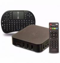 Tv Box Hd Android 4.4 Wifi Google Smart Tv IPTV Hdmi + Teclado - Power XL