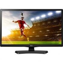 "Tv led 19,5"" lg 20mt49df-ps hd com conversor digital 1 hdmi 1 usb 60hz time machine ready preta -"