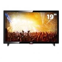 """TV LED 19"""" Full HD AOC LE19D1461 com Conversor Digital Integrado, Entradas HDMI e Entrada USB -"""