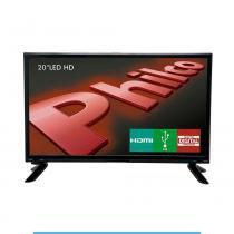 """TV Led 20"""" HD com recepção digital Philco bivolt -"""