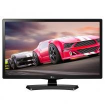 "TV LED 23.6"" LG 24MT49DF-PS HD com 1 USB 1 HDMI Função Monitor DTV Gaming Mode Time Machine Ready - Elgin calculos"