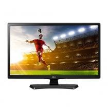 TV LED 23.6 LG 24MT49DF-PS HD USB, HDMI, Função Monitor, DTV, Gaming Mode - Preta -
