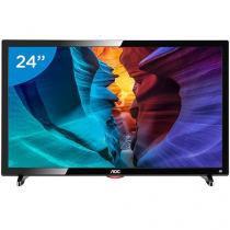 """TV LED 24"""" AOC Full HD LE24D1461 - Conversor Integrado 2 HDMI 1 USB"""