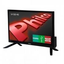 "TV LED 24"" HD PH24N91D com DTV e HDMI Philco -"