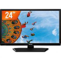 TV LED 24 HD Semp TCL L24D2700 HDMI USB e Conversor Digital - Semp Toshiba