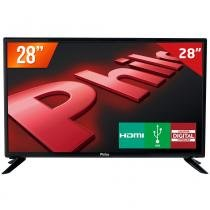 "TV LED 28"" HD Philco PH28D27D 2 HDMI 1 USB Conversor Digital - Philco"