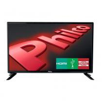 TV LED 28 Polegadas HDMI USB HD Preto - Philco - Philco