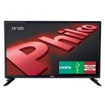 TV LED 28 Polegadas Philco HD HDMI USB - 099283012 - PHILCO