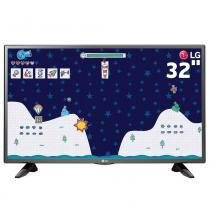 "TV LED 32"" HD LG 32LH510B com Conversor Digital Integrado, Painel IPS, Game TV, Entrada HDMI e USB - LG"